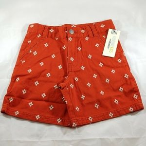 Oshkosh Boys Shorts Genuine Kids Red Print
